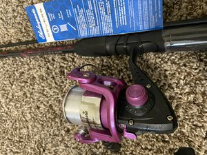 Guys and girls fishing rod for Sale in Marysville, WA