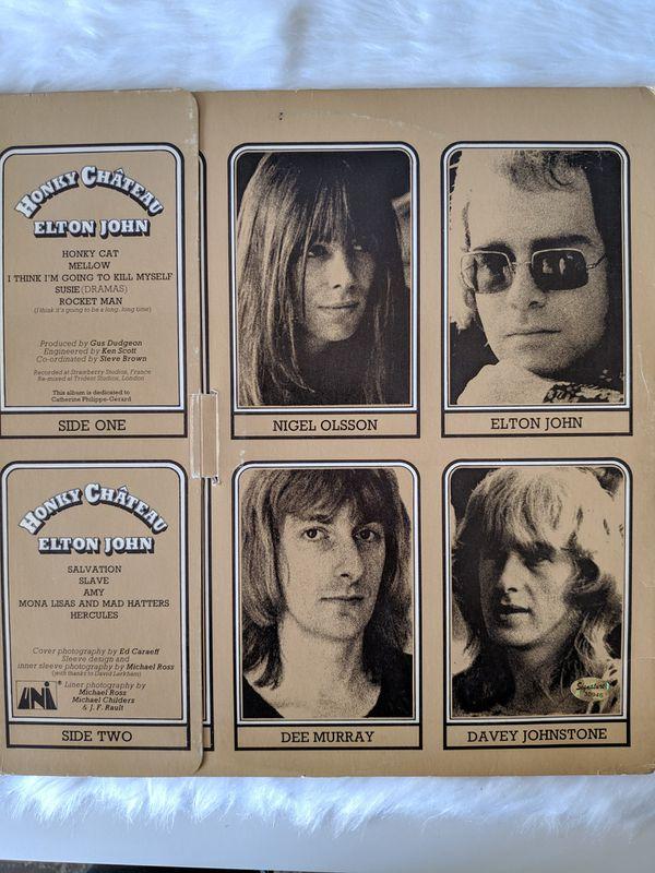 """Elton John Autographed """"Honkey Château"""" Record"""