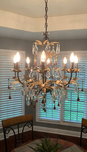 Beautiful crystal chandelier for Sale in Mars, PA