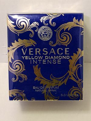 "FIRM $48.00 ""YELLOW DIAMOND INTENSE"" BY VERSACE, 3.0 OZ EAU DE PARFUM, SEALED BOX for Sale in Manor, TX"