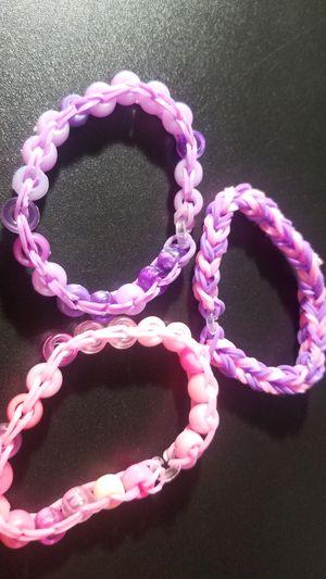 Purple and pink bundle (rainbow loom) for Sale in Corona, CA