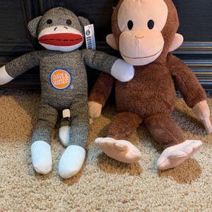 Monkey stuffed animals - Set 2 for Sale in Phoenix, AZ