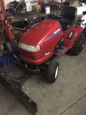 Craftsman mower with blade and snow set up for Sale in Columbia, MO