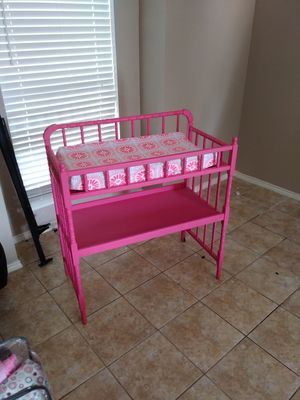 Changing table for Sale in Grand Prairie, TX