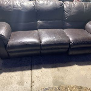 Like New Electric Recliner Real Leather Couch, Granite table, nice soft Rug, Foosball Table, Coffe Tables, Wake Board, Dirt bikes, Lots More Pls MSGme for Sale in Simi Valley, CA