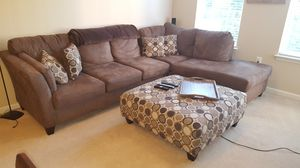 Bob's Furniture sectional sofa for Sale in Beltsville, MD