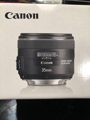 Canon 35mm f2 USM Lens for Sale in Sanger, CA