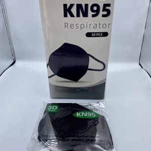 Black Disposable Respirator Masks — 50 pc for Sale in Downey, CA