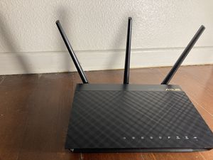 ASUS Dual-Band 3x3 Wi-Fi 4-Port Gigabit Wireless Router (AC66U) for Sale in Anaheim, CA