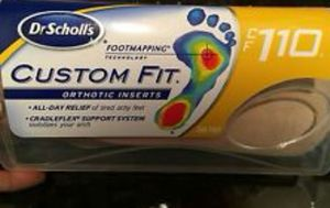 Dr Scholls Custom Fit orthotic inserts (110) for Sale in Arlington, TX