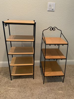Longaberger Wrought Iron Shelf Units for Sale in Loomis, CA