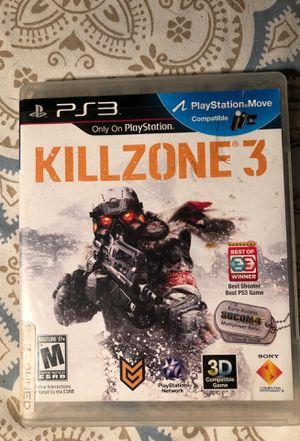 KillZone 3/ PS3/ USED for Sale in Savannah, GA
