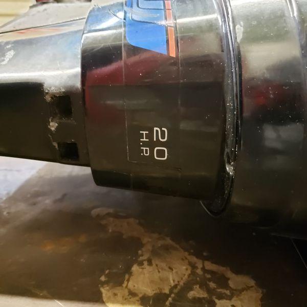 Mercury 200 Outboard 20 hp Boat Motor