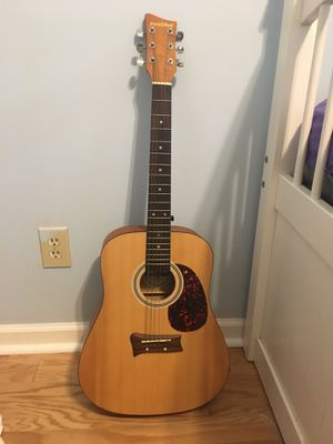 First act acoustic guitar with gig bag for Sale in Montgomery, AL