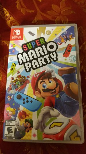 Nintendo switch super Mario party for Sale in Albuquerque, NM