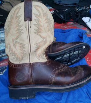 Mens Justin work boots size 11 for Sale in Chattanooga, TN