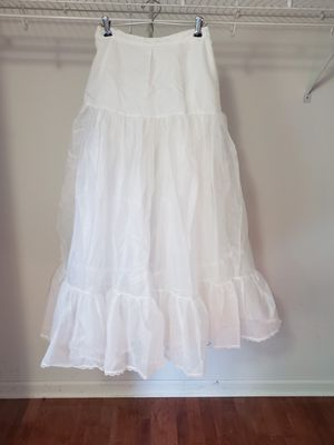 Tulle slip for wedding dress for Sale in Naperville, IL