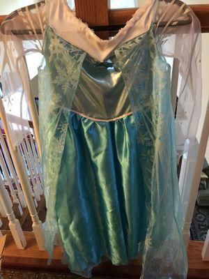 Elsa costume (size large 14–16) for Sale in Alexandria, VA