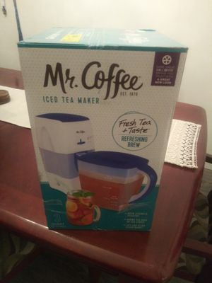 Mr Coffee Iced Tea Maker for Sale in Covina, CA