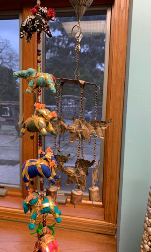 Lucky Elephants Whimsical wind chimes for Sale in Hampshire, IL