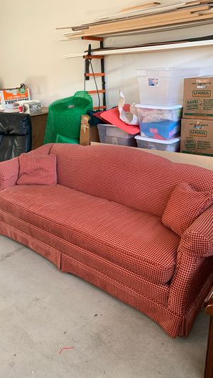 Sofa, down filled. High end. for Sale in Wenatchee, WA