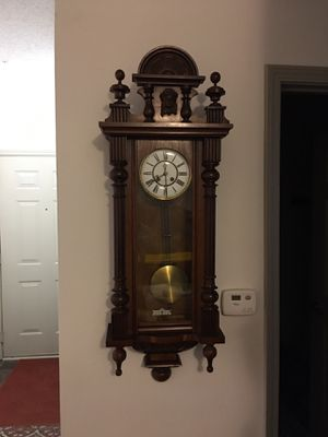 Antique wall clock, made in Germany for Sale in Atlanta, GA
