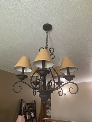 Chandelier and Wall lights for Sale in Lynnwood, WA
