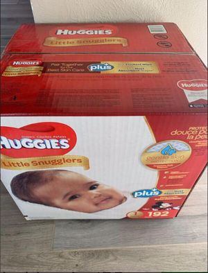 Brand new huggies size 1 diapers for Sale in Carrollton, TX