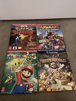 Nintendo GameCube guides for Sale in Cutler Bay, FL