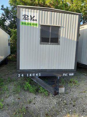 8x24 with hitch 8x20 box mobile office on wheels for Sale in Orlando, FL