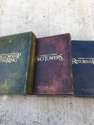 The Lord of the Rings trilogy for Sale in Austin, TX