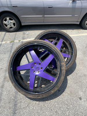 "26"" Forgiato's (6) luges Rims&Tires for Sale in Atlanta, GA"