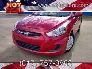 2016 Hyundai Accent for Sale in Haltom City, TX