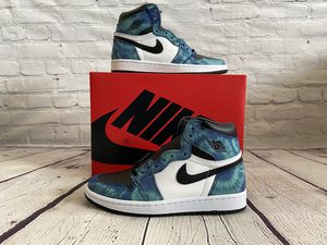 "DS Women's Jordan 1 ""Tie Dye"" size 8.0 for Sale in Lakewood, CO"