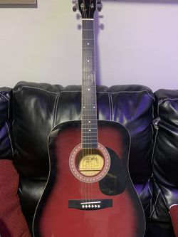 Esteban Acoustic Guitar With Carrying Case. Obo for Sale in Cleveland,  OH