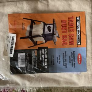 Table saw dust bag for Sale in Lyndhurst, NJ