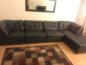 Leather Sectional Couch for Sale in Wilmington, DE