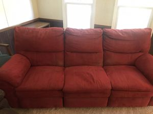 Two couches one big one small for Sale in Franklinton, NC