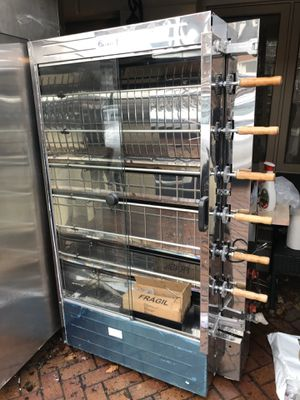 Rotisserie chicken machine gas new for Sale in Brooklyn, NY
