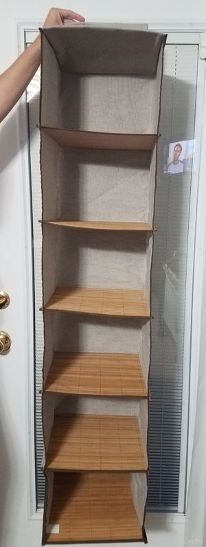 Bar hanging closet organizer Storage for Sale in Pottstown, PA