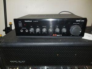 40 watt Radio Shack Amp Amplifier for Sale in Riverside, CA