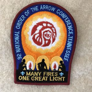 "Boy Scouts Order of the Arrow 1992 Tennessee 5.5"" Patch for Sale in Anchorage, AK"