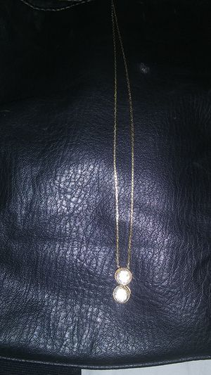 10 k necklace,with gold charm for Sale in North Little Rock, AR