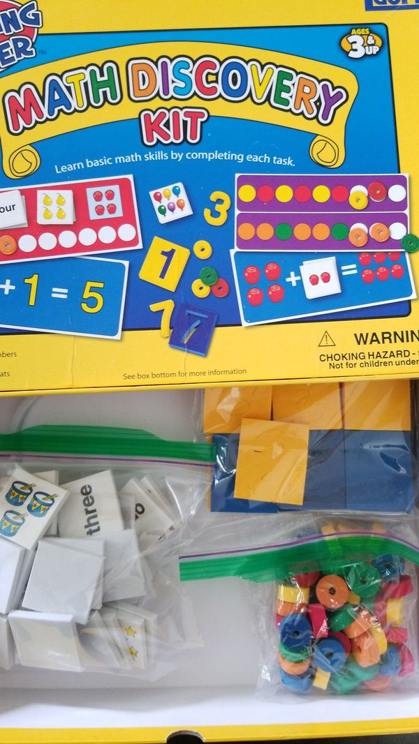 Math Discovery Kit by Lauri