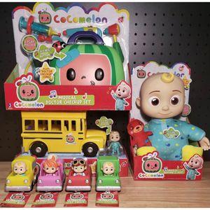 "NEW COCOMELON COMPLETE TOY SET - JJ 10"" Doll, School Bus, Doctor Box & 4 Cars for Sale in La Puente, CA"