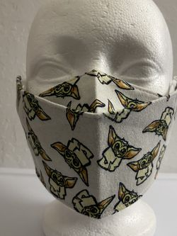 3D Face Mask Adults (Baby Yoda)-D27 for Sale in San Diego,  CA