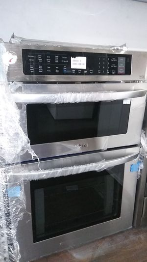 New Lg Stainless Microwave and Oven for Sale in Corona, CA