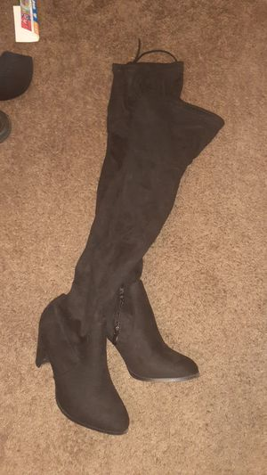Over the knee suede boot for Sale in Fresno, CA