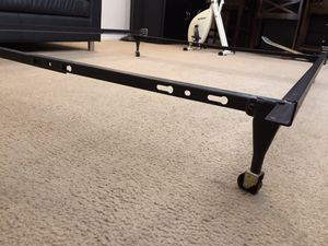 Twin size and full-size metal bed frame for Sale in Huntington Beach, CA