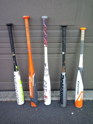 4 nice Baseball bats very good shape. for Sale in Gladstone, OR